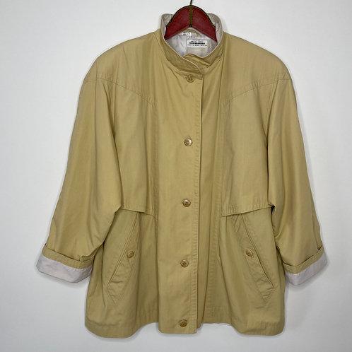 Vintage Jacke Pastellgelb 80's 90's (L-XL)