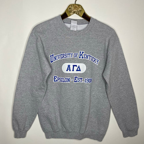 Vintage College Sweater Unisex 80's 90's (S)