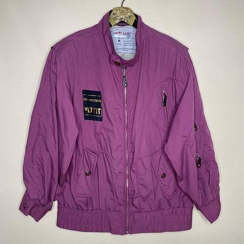 Vintage Jacke Lila Unisex 80's 90's (L-XL)