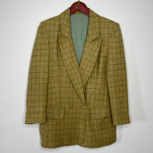 Vintage English Tweed oversize Blazer 80's 90's (M-L)