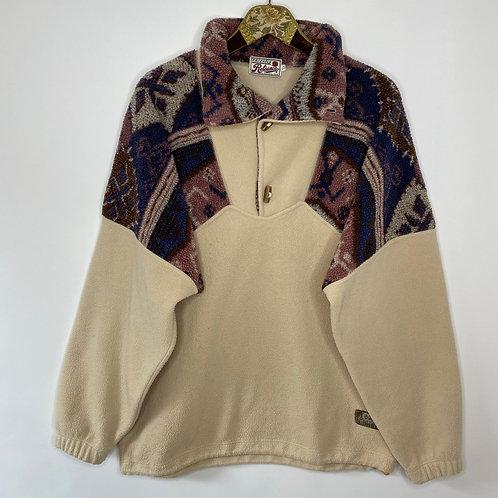 Vintage Fleece Pullover Unisex 80's 90's (XL-XXL)