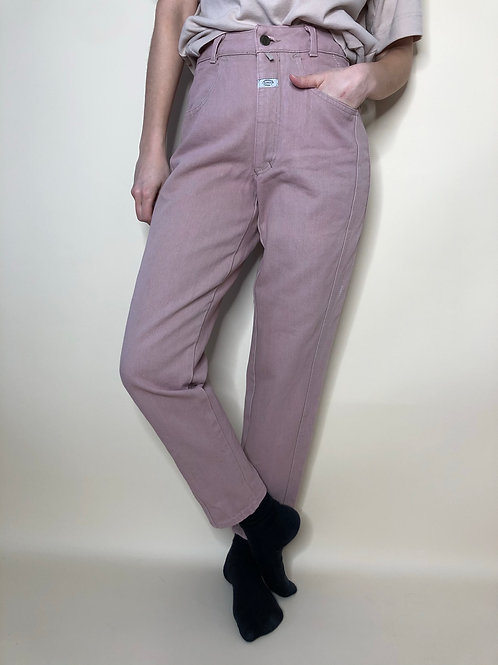 Vintage Highwaist Jeans Closed Baumwolle Rosa 80's 90's (S)