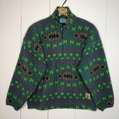 Vintage oversize Fleece Sweater Kappa 80's 90's (M)