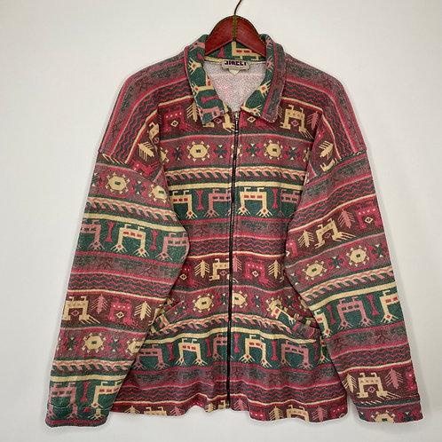 Vintage Fleece Jacke Unisex 80's 90's (2XL-3XL)