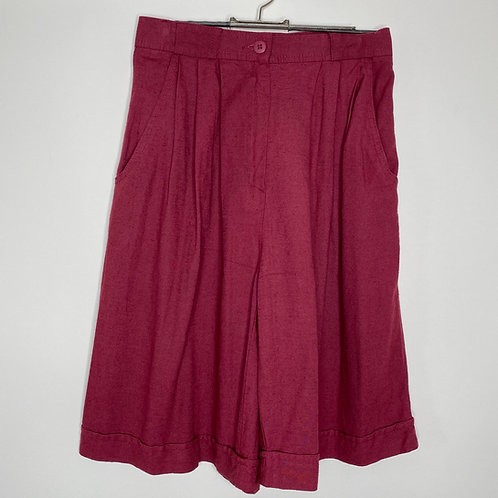 Vintage Shorts Dunkle Beere 80's 90's (S)