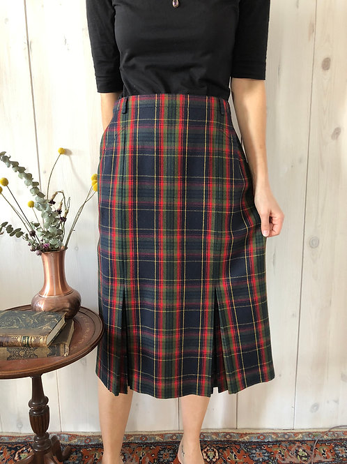 Vintage Rock Tartan Highwaist 70' (M-L)