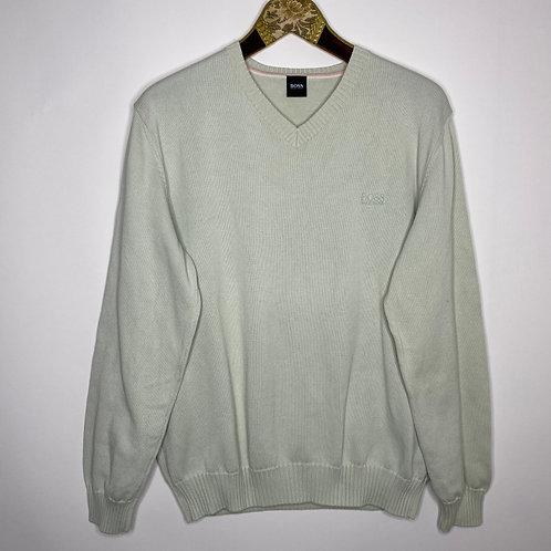 Vintage Pullover Mint Hugo Boss Unisex 80's 90's (M-L)