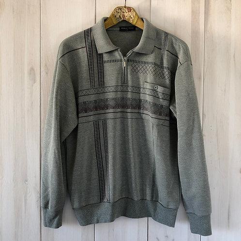 Vintage Sweater mit Kragen Unisex 80's 90's (S-M)