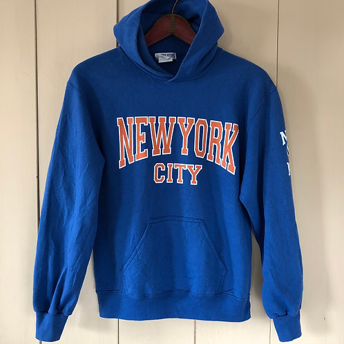 Vintage Hoodie NBA New York City Unisex 80's 90's (XS-S)