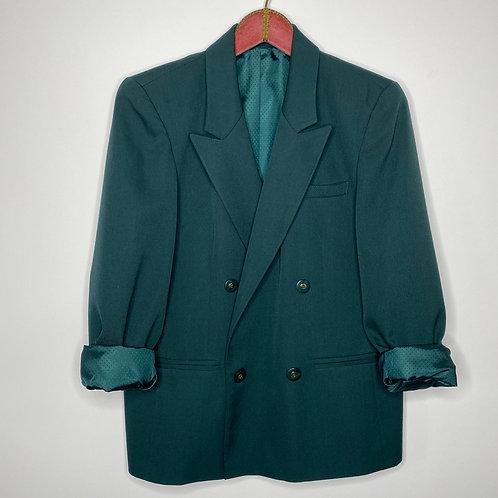Vintage oversized Blazer Green 80's 90's (L)