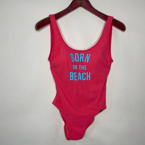 Vintage Badeanzug Pink 80's 90's (S-M)