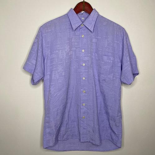 Vintage Hemd Flieder Unisex 80's 90's (M-L)