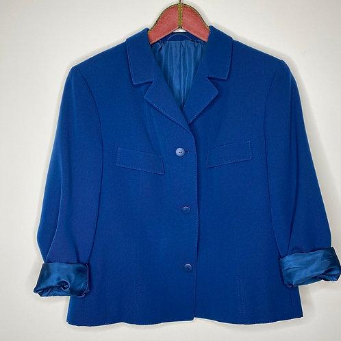 Vintage Blazer Blau 80's 90's (L)