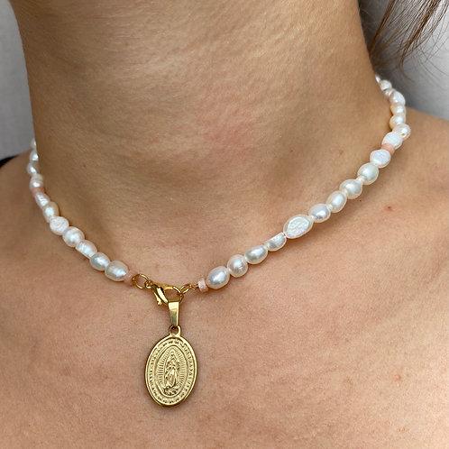 Handmade Perlen Kette Maria