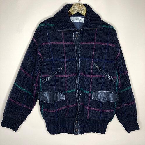 Vintage Woll Jacke ICEBERG Unisex 80's 90's (L-XL)