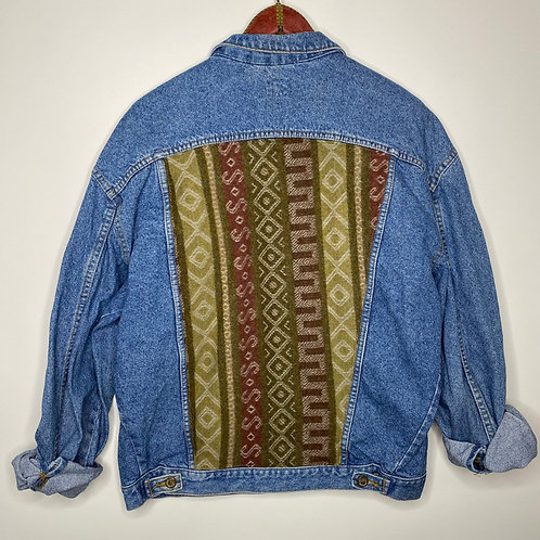 *Upcycling Edition* Vintage Jeans Jacke Unisex 80's 90's (M-L)