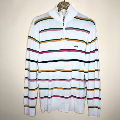 Vintage Woll Pullover Lacoste 80's 90's (S)