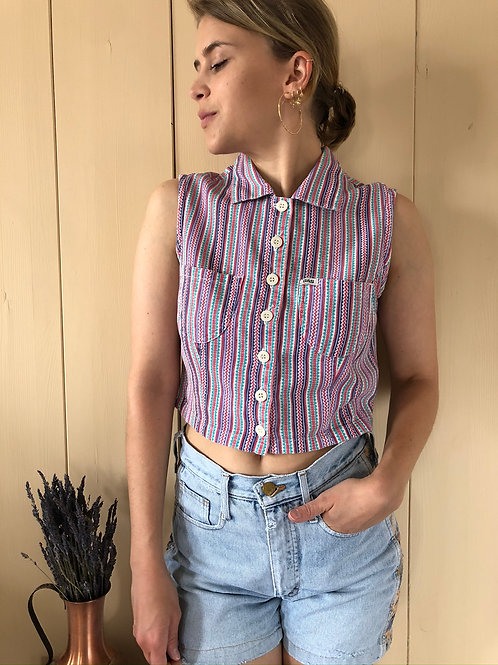 Vintage Top GAS 80's 90's (XS-S)