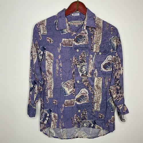 Vintage Hemd Mc Panthon Sportswear 80's 90's (L)
