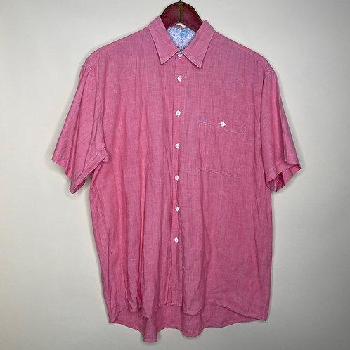 Vintage Hemd Pink Unisex 80's 90's (M-L)