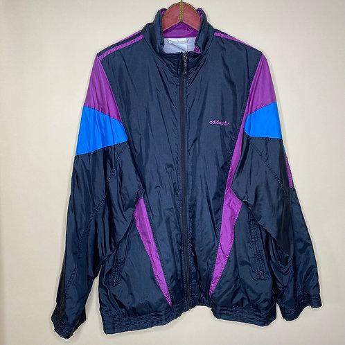 Vintage Shelljacket Adidas Unisex 80's 90's (2XL-3XL)