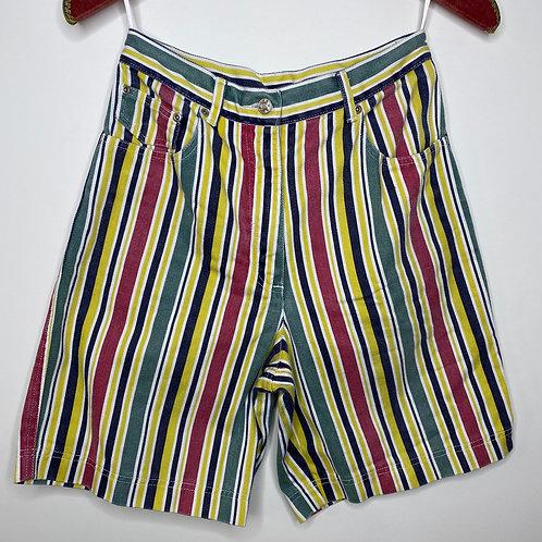 Vintage Highwaist Hose Streifen 80's 90's (S)