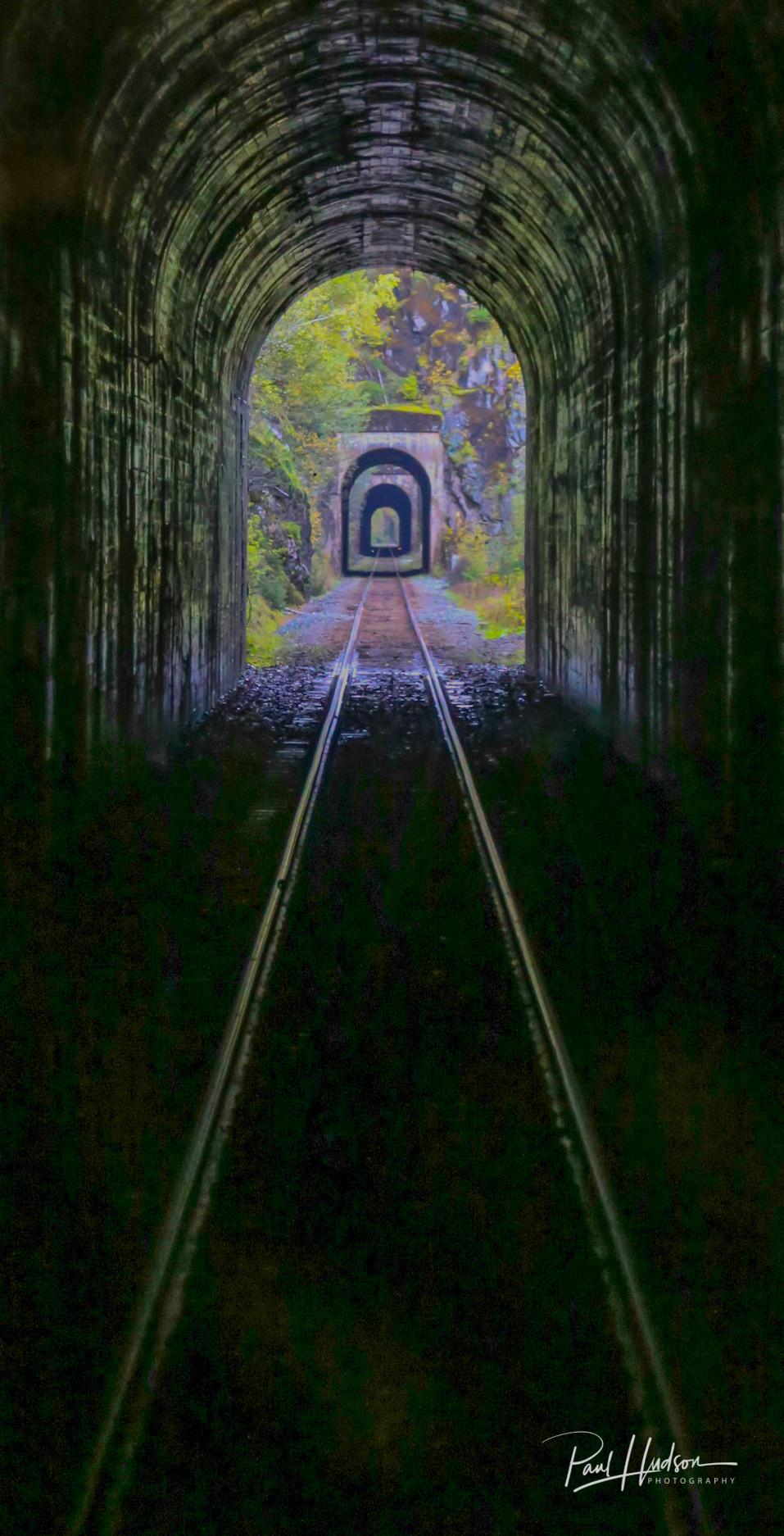 Three Tunnels Rocky Mountaineer