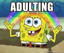 On the Art of Adulting...