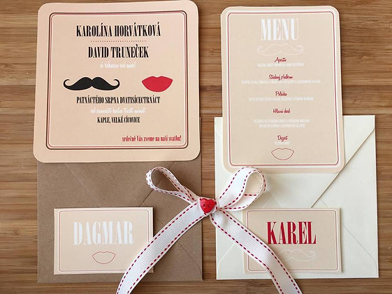 Wedding kit - Karolína