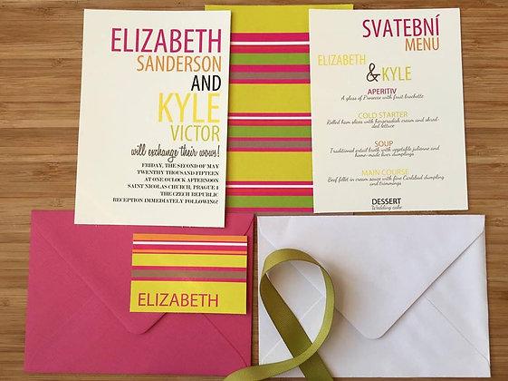 Wedding kit - Elizabeth
