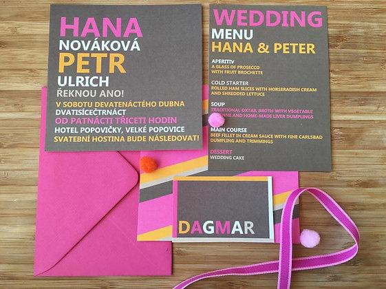 Wedding kit - Hana
