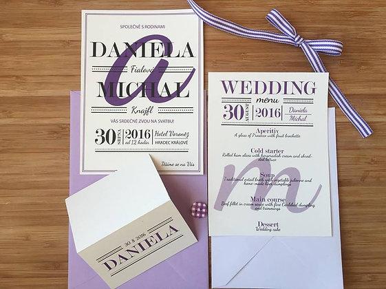 Wedding kit - Daniela