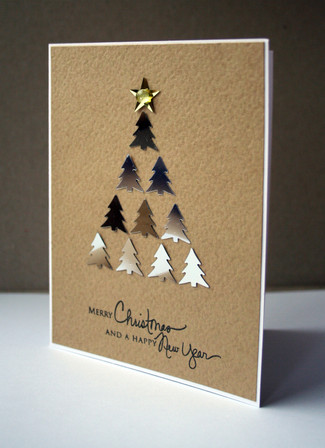 Fresh and unique Christmas Cards