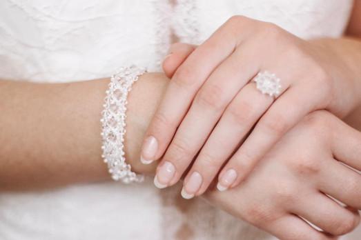 Armband GLORIA & Ring JOLENE