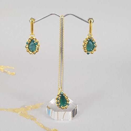 DELEA & DILARA grün/gold