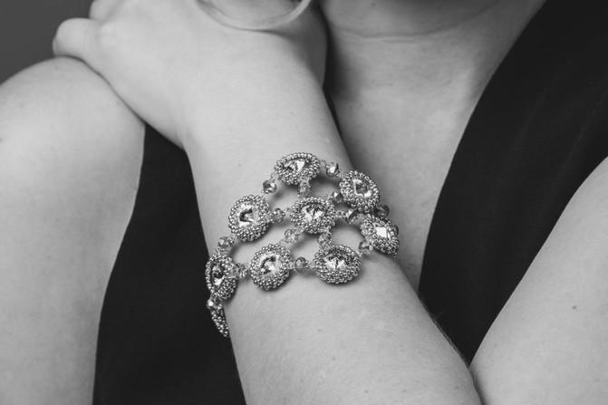 Armband Swarovskikristalle