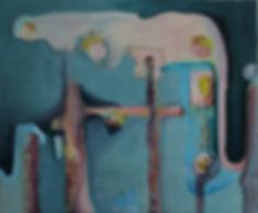 1 Capitalocene #1_Oil on canvas_50 x 60