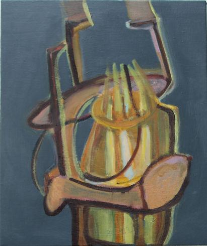Plantationocene #14 _Oil on canvas_35 x