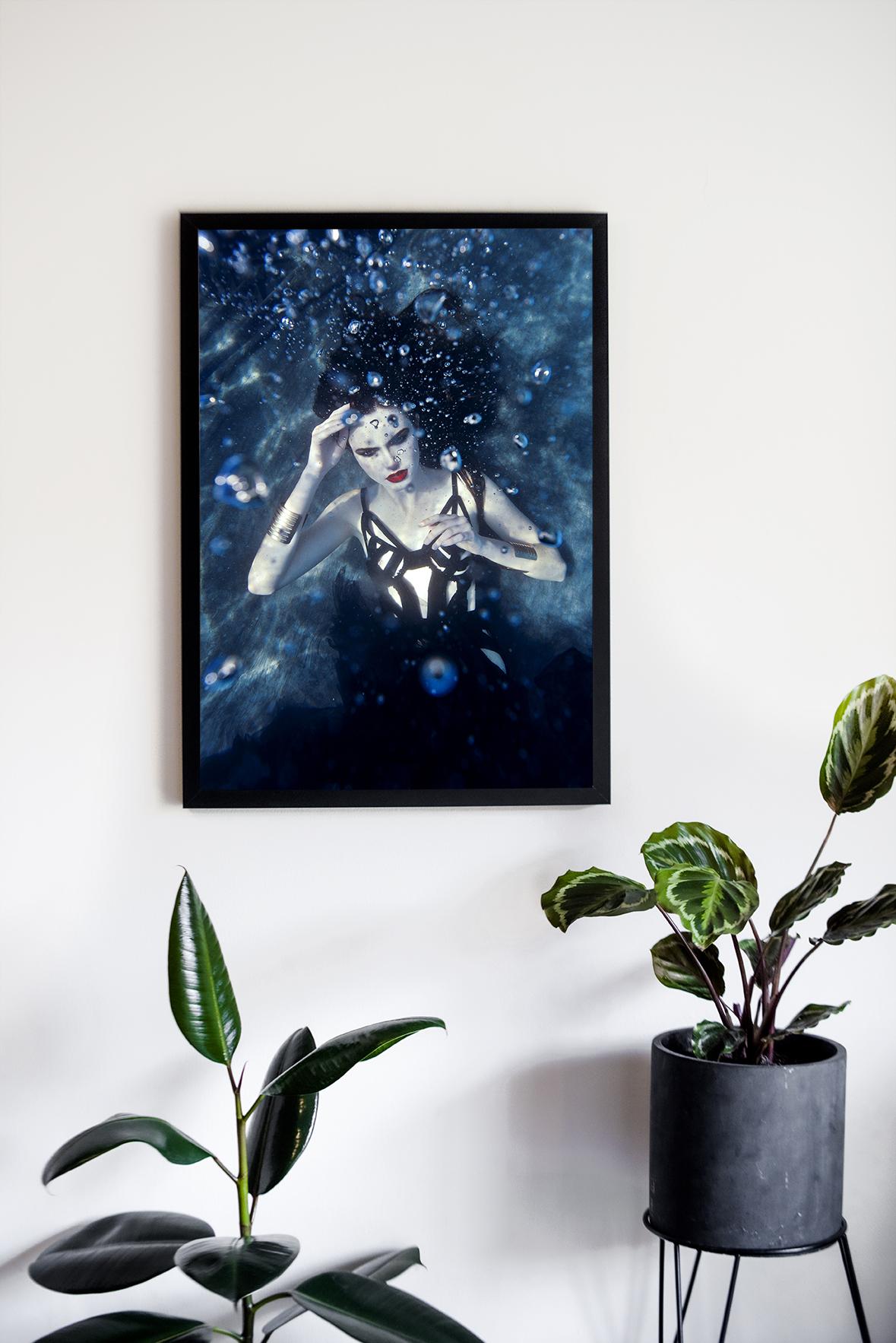 no love lost 40x60cm print underwater