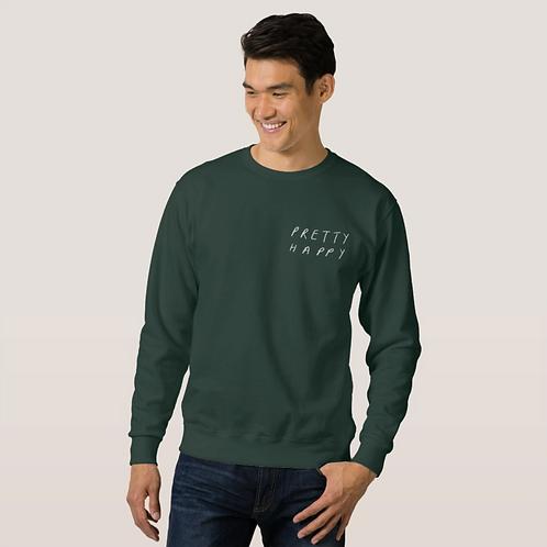 Pretty Happy Can Design Sweatshirt
