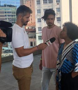 Entrevista para Jornal Nacional (2019) sobre a FLUP