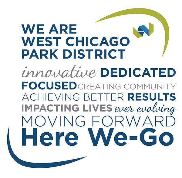 We are West Chicago Park District Wall W