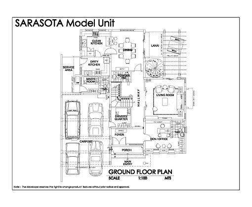 SARASOTA MODEL  BLK 12 LOT 17