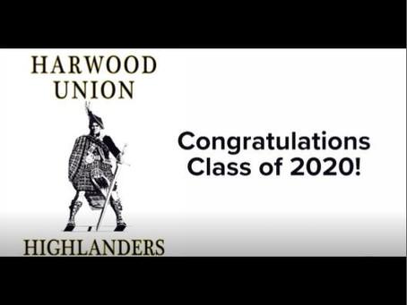 2020 Graduates: Harwood Union High School - WCAX (Video)