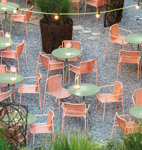Stuhl Tribeca   Tisch Nolita   Pedrali