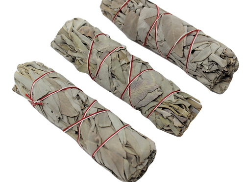 White Sage Smudge Sticks (3 count)