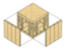 ハイブリット構造図