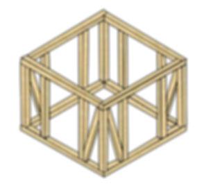 軸組構造図