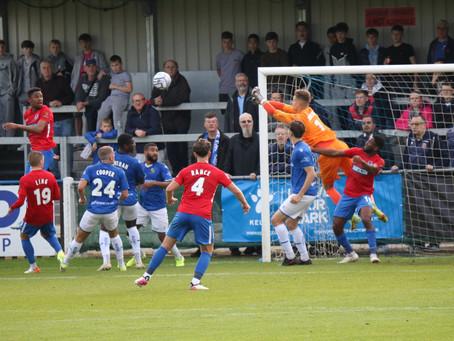 MATCH REPORT | Wealdstone 1-2 Dagenham & Redbridge