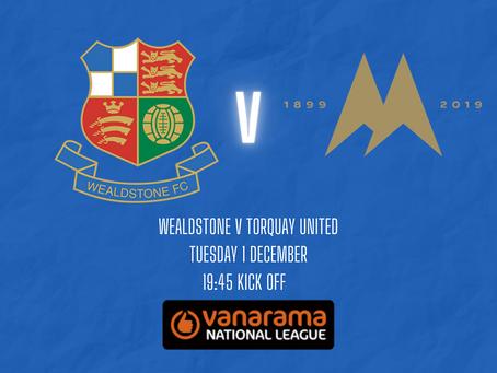 Wealdstone v Torquay United - Match Preview
